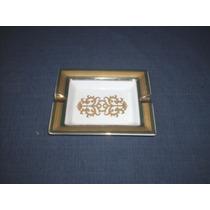 Cenicero Porcelana Bavarian Garden - Golden Collection