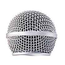 Bocha Rejilla Metálica Para Microfono Shure Sm-58 Rk143g