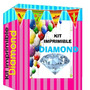 Kit Imprimible Empresarial Diamond Candy Bar + Mega 70gb !