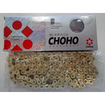 Cadena De Transmision Choho 428h X 118l Reforzada Dorada