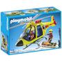 Playmobil Country Helicóptero D Rescate D Montaña 5428 Giro