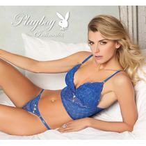 Conjunto Playboy Corset Intimates Colaless Encaje Bustier