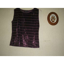 Remera Daniel Cassin Color Uva Talle S