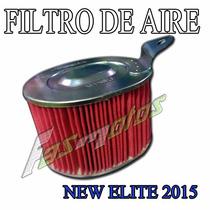 Filtro De Aire Honda Elite 125 2015 Original M/n - Fas Motos