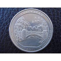 U. S. A. - Chickasaw, Moneda De 25 Centavos (cuarto), 2011