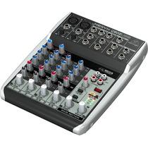 Consola Mixer Behringer Xenyx Q802usb Entrada Usb 6 Canales
