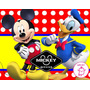 Kit Imprimible De Mickey Mouse Diseñá Tarjetas Cotillon Mas