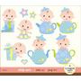 Kit Imprimible Baby Shower Nene 5 Imagenes Clipart