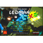 Robot Led Ledman Kid Fiesta Para Chicos + Traje Led