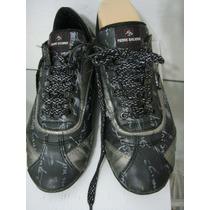 Pierre Balmain Zapatos Zapatillas 37 Eco-cuero Gris (ana.mar