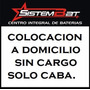 Bateria Signers 12x36 Honda Fit Tico Qq Colocacion Caba S/c