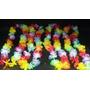 Collares Hawaianos Tela Multicolor Pack X 10
