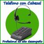 Teléfono Headset Profesional Con Cabezal Tipo Vincha