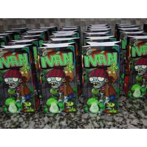 Souvenirs Infantiles, Plants Vs Zombies 2 (30 Unidades)