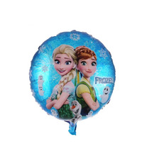 Globo Metalizado Frozen Disney18 Pulgadas Deco Souvenir X25