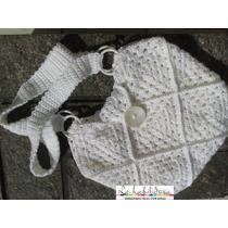 Bolso Tejido Al Crochet, Accesorios, Carteras, Novias