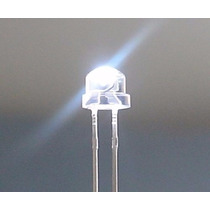 1000 Led Bombin 5mm Straw Hat Alta Luminosidad Blanco-color