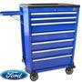 Gabinete Metalico Porta Herramientas Rodante Ford Tools 030