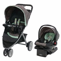 Planeta Bb Graco Pace Coche Travel System C/huevito Y Base