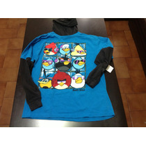 Remera De Angry Birds