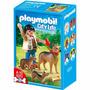 Playmobil 5211 City Life - Figura + Perros Ovejero Original