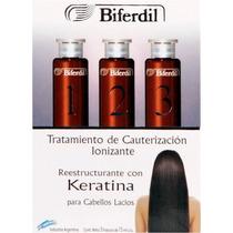 Biferdil Tratamiento Cauterización Ionizante Keratina 3 X 15