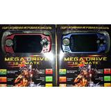 Consola Portátil Megadrive Ultimate 16 Bits Con 34 Juegos!!!