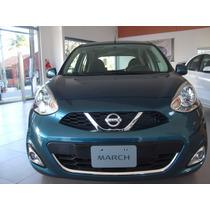 Nissan March Financiado Anticipo Y Cuotas Tasa Preferencial