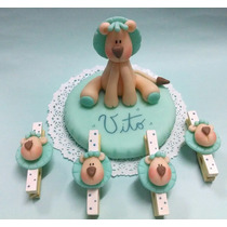 Souvenirs X 10 Unidades Baby Shower Primer Añito Bautismo