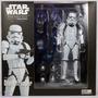 Star Wars Stormtrooper Revo 002 Kaiyodo 15cm Articulado Full