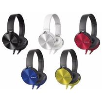 Auriculares Sony Mdr-xb450 Vincha Extra Bass Potenciados