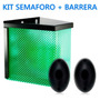 Kit Garage Cochera 1 Semáforo 24 Leds + 1 Barrera Infrarroja