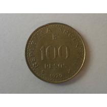 Moneda Argentina Antigua 100 Pesos Ley 18188