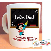 Taza Personalizada Regalo Dia Maestro, Geniales Creativas !!