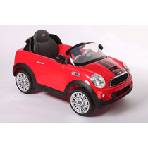 Auto Coche Bateria Para Niños Mini Cooper Kiddy Radio Fm Mp3