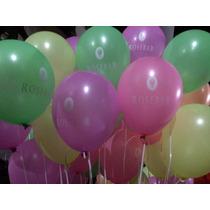 Oferta Globos Con Gas Helio X30 Colores Fluo Lisos Globoshow