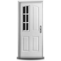 Puerta Doble Chapa Inyectada Oblak Der 080 X 200 Mod.2736