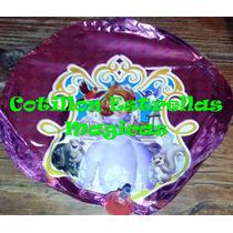 Princesita Sofia Globos Metalizados 9pulgadas 20 Cm Cotillon