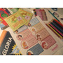 Kit Completo De Stickers Para Utiles Escolares Personalizado