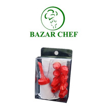 Manga De Plastico Con 8 Picos - Bazar Chef