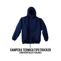 Campera Termica Tipo Trucker