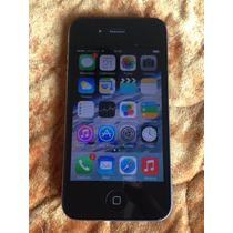 Iphone 4 8gb Negro Libre De Fabrica - Buen Estado ! Local