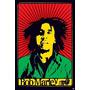 Poster Importado De Bob Marley - Rastafari - 90 X 60 Cm
