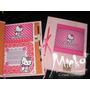 Diario Intimo Hello Kitty, Mickey, Libro Anotador C/lap