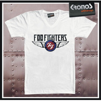 Remera Foo Fighters Nirvana Dave Grohl Rock Grunge Punk