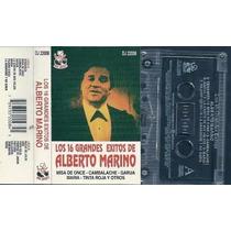 Los 16 Grandes Exitos De Alberto Marino Cassette