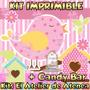 Kit Imprimible Pajaritos Nena Candy Bar Invitaciones 2x1
