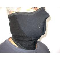 Mascara Neoprene / Neoprene Mask Para Motociclismo