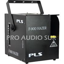 Maquina De Niebla Pls F900 Hazer Tiro Continuo Dmx Teatro