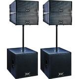 Line Array Sistema De Bafle Aereo Electro Voix 2400 Watts $